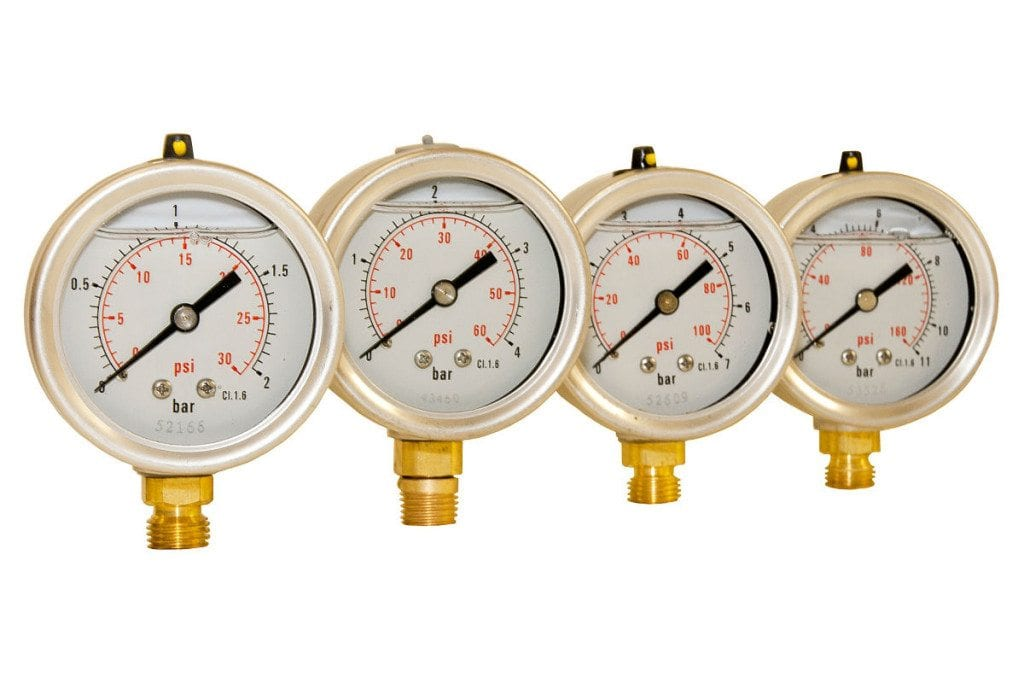 Pressure Gauges Set