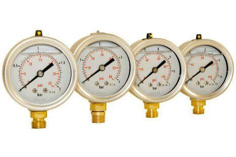 pressure gauge set