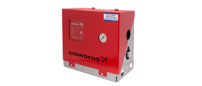 Grundfos residential booster pump sets
