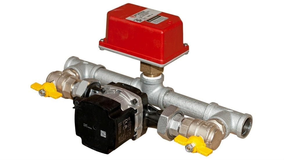 residential flow switch testing device