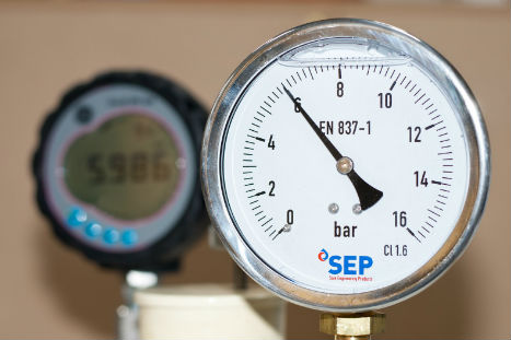 SEP Pressure Gauge Calibrated