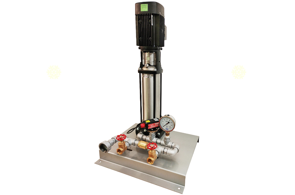 dry riser test pumps